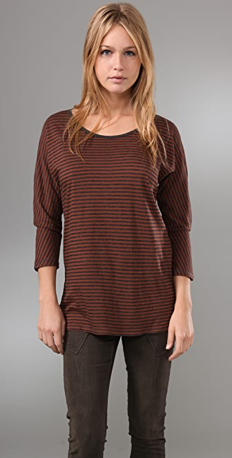 Madewell Virginia Striped Dolman Tee