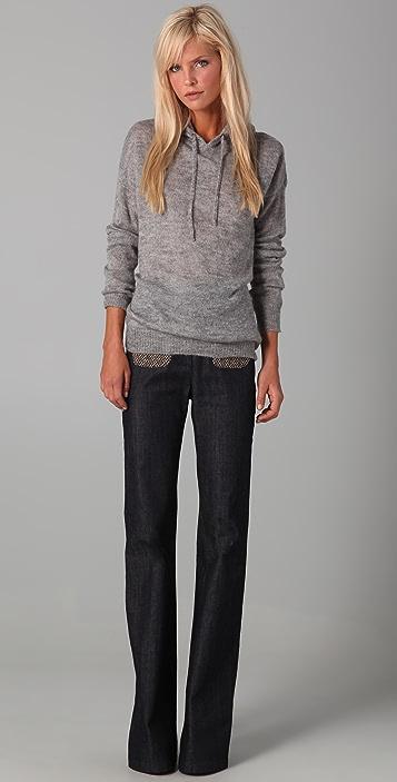 Madewell Sweater Knit Hoodie