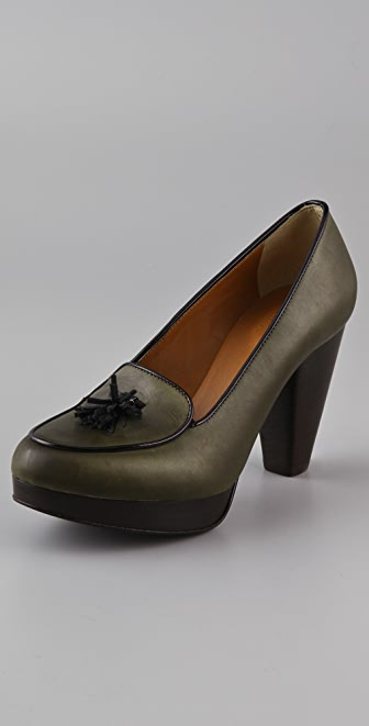 Madewell Belgian Loafer Pumps