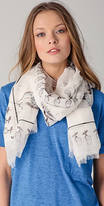 Madewell Pelican Square Scarf