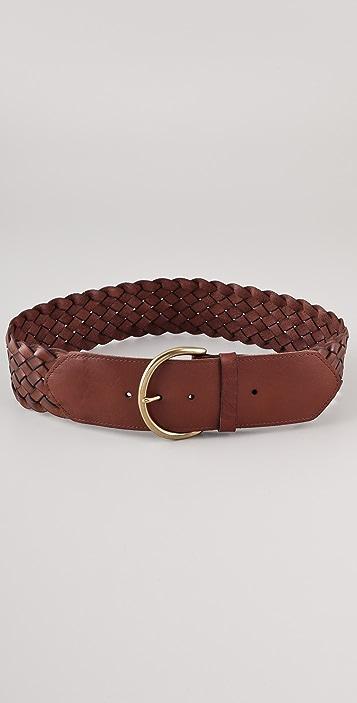 Madewell Whiskey Waist Braided Belt
