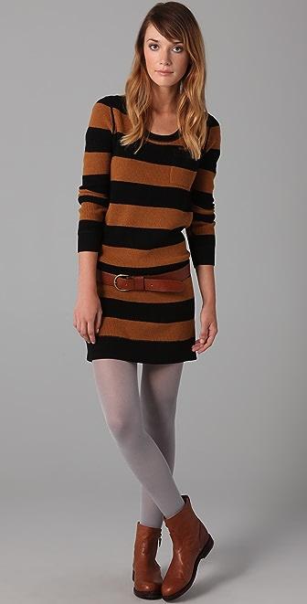 Madewell Striped Lamp Post Sweater Dress