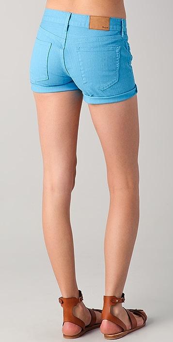 Madewell Garment Dyed Midi Shorts