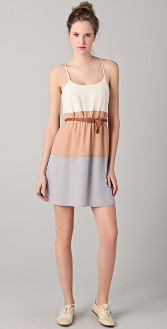 Madewell Colorblock Cami Dress