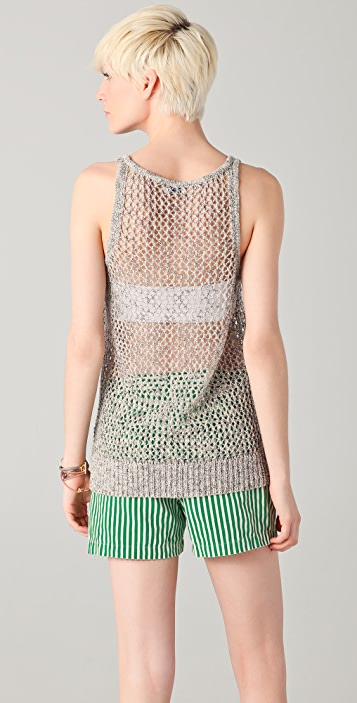 Madewell Open Stitch Tank