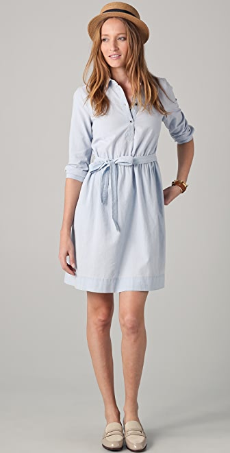 Madewell Chambray Margot Dress