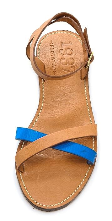 Madewell Jasper Flat Sandals