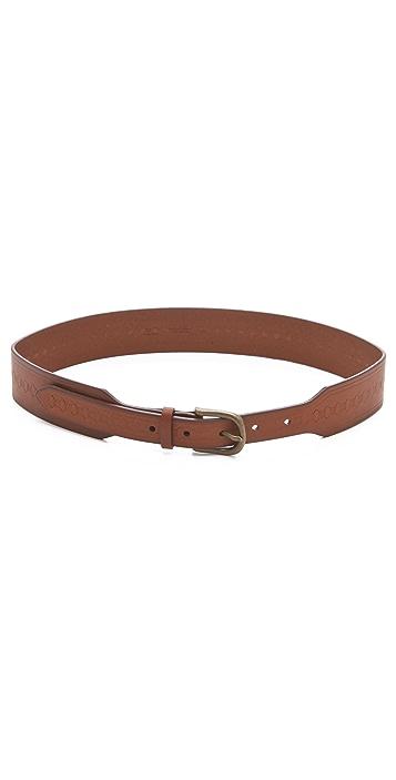 Madewell Embossed Wide Waist Belt