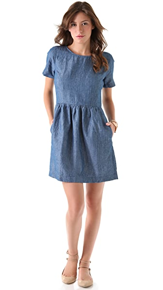 Madewell Chambray Avalon Dress