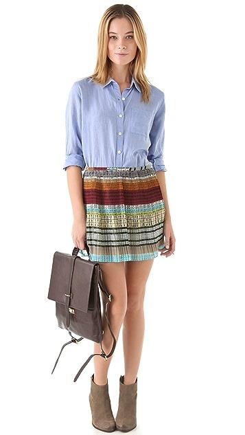 Madewell Maggie Maw Accordion Skirt