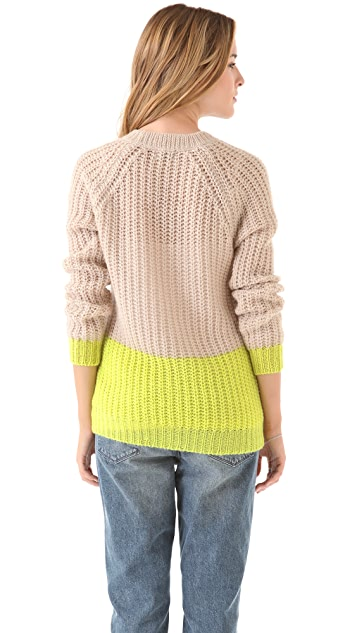 Madewell Olivia Colorblock Pullover