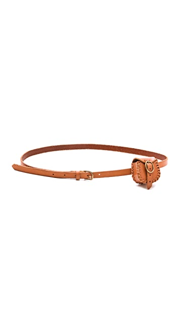 Madewell Mini Coin Purse Belt