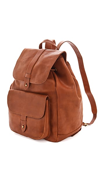 Madewell Leather Backpack