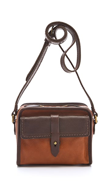 Madewell Heritage Leather Camera Bag