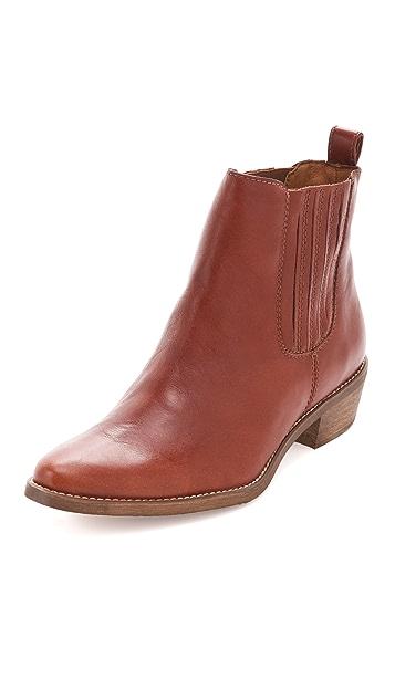 Madewell Chelsea Booties