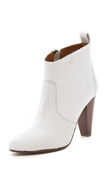 Madewell Old Town Haircalf Booties