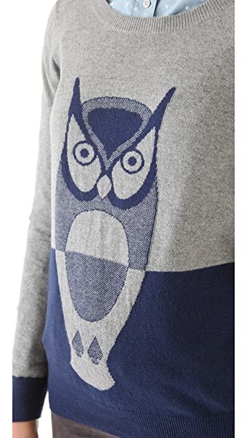 Madewell Weldon Owl Pullover