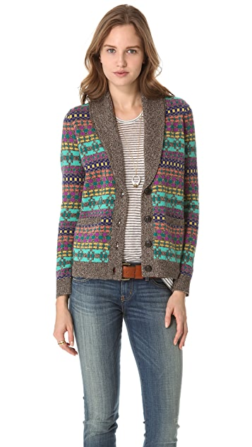 Madewell Esther Pattern Cardigan