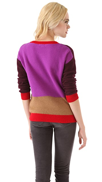 Madewell Elsa Colorblock Pullover