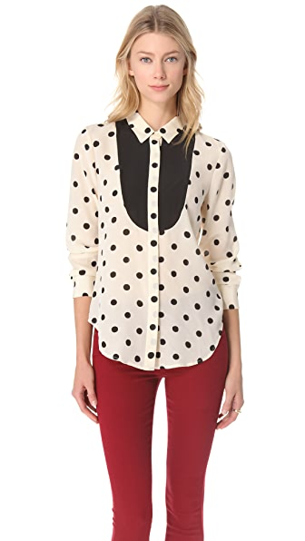 Madewell Block Dot Shirt