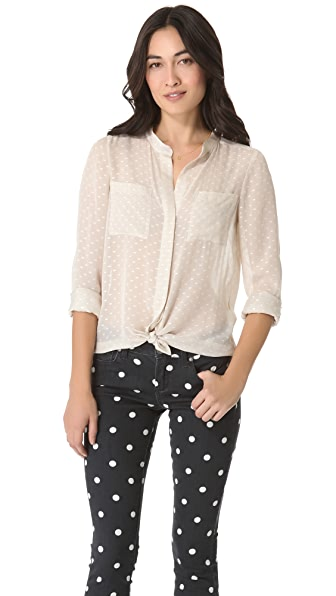 Madewell Snow Dot Blouse