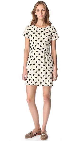 Madewell Maude Polka Dot Dress
