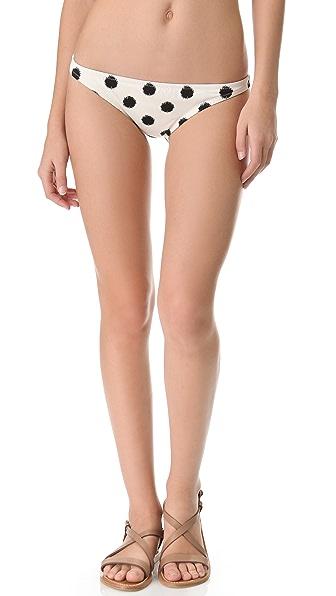 Madewell Sponge Dot Hipster Bikini Bottoms