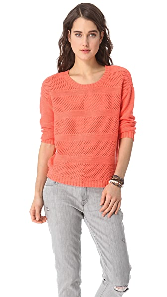 Madewell Diego Striped Pullover