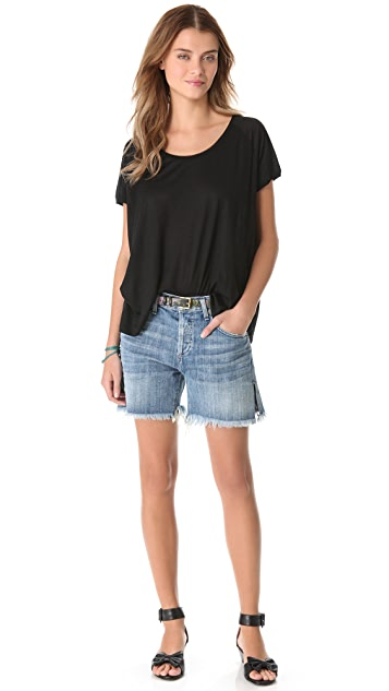 Madewell Souvenir Scoop Neck Tee