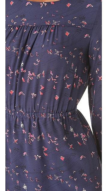 Madewell Taylor Birds Dress