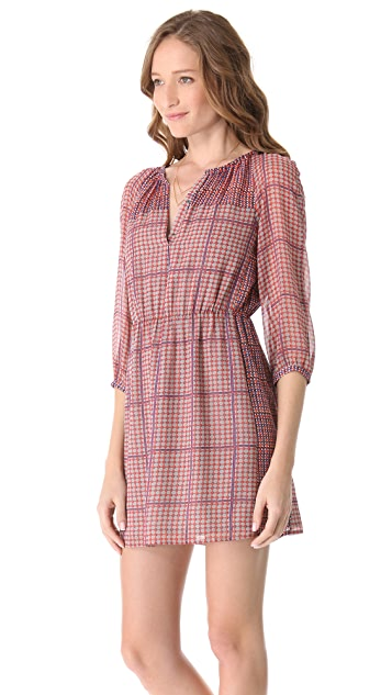 Madewell Mackenzie Shirred Dress