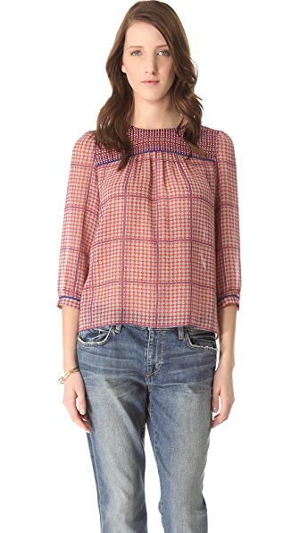 Madewell Joselyn Paneled Blouse