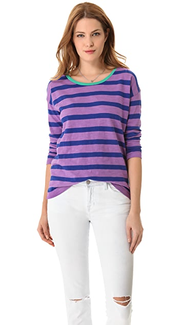 Madewell Striped Slub Long Sleeve Tee