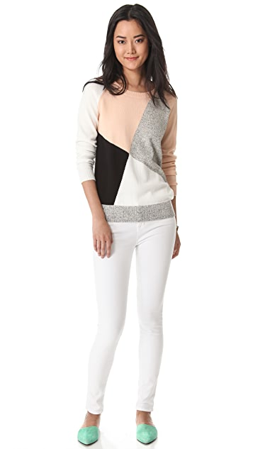 Madewell Shifting Colorblock Pullover