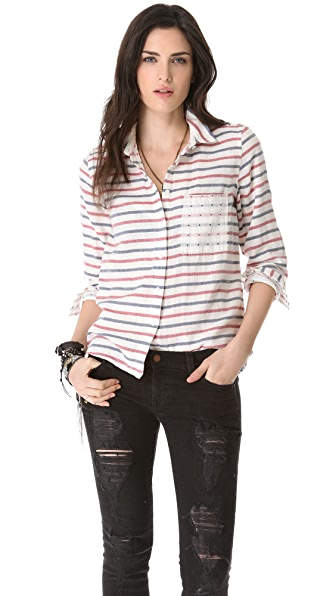 Madewell Striped Boy Shirt