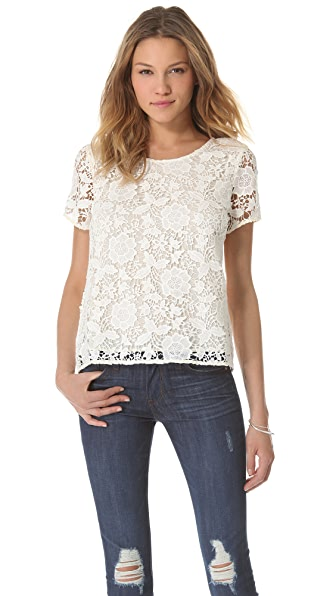 Madewell Lace T-Shirt