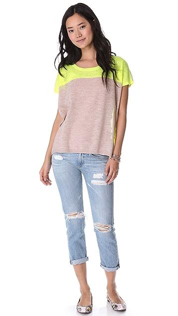 Madewell Jarah Colorblock Pullover