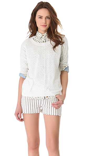 Madewell Pipa Pointelle Pullover