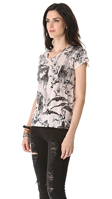 Madewell Safari Animal Print Tee