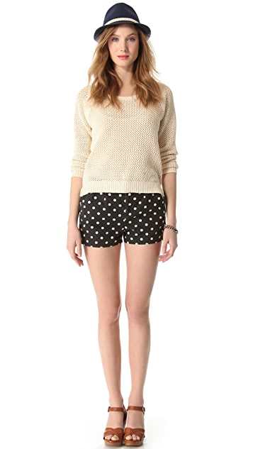 Madewell Artdot Shorts