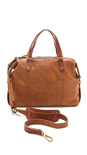 Madewell Leather Caravan Satchel