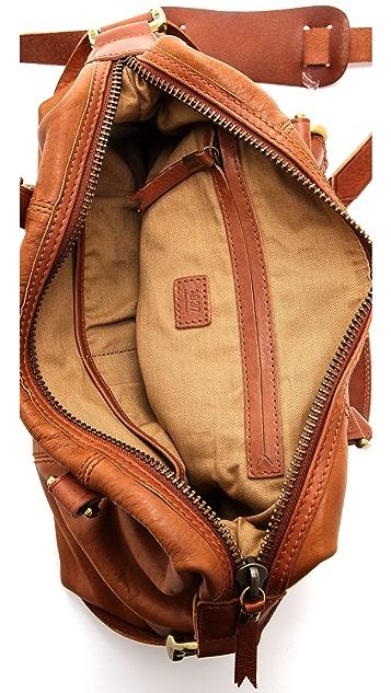 Madewell Leather Caravan Satchel