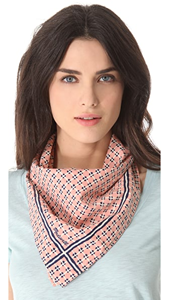 Madewell Taxicab Plaid Kerchief