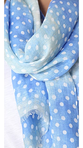 Madewell Ombre Dot Scarf
