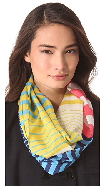 Madewell Striped Circle Scarf