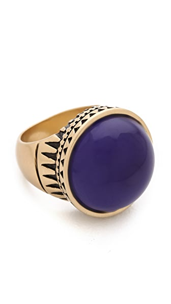 Madewell Carved Cobalt Ring