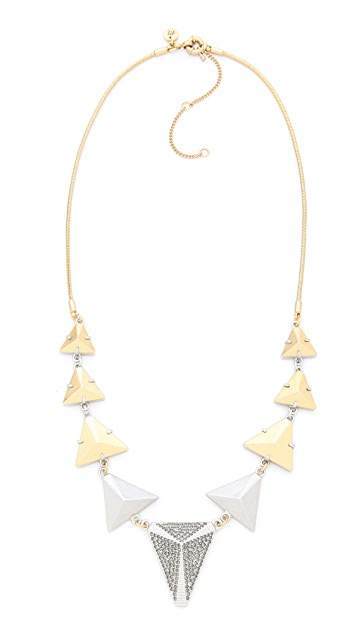 Madewell Triangle Statement Necklace
