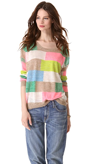 Madewell Color Patch Pullover