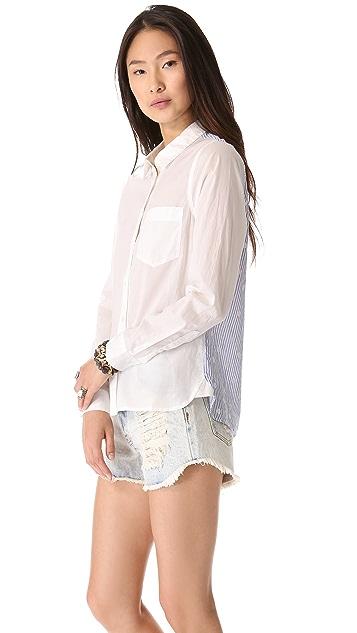 Madewell Eden Dotty Stripe Shirt