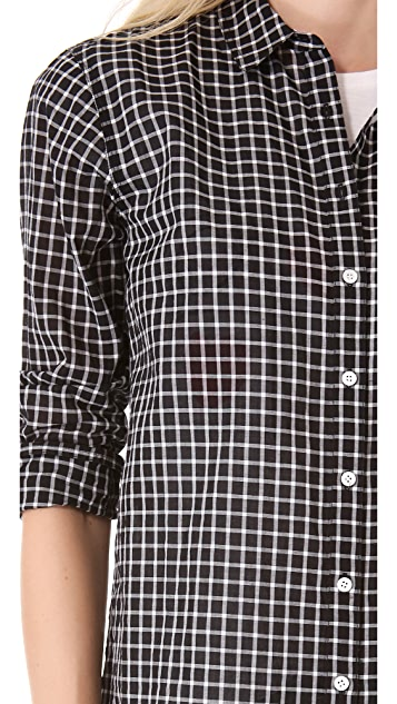 Madewell Ex Boyfriend Plaid Shirt